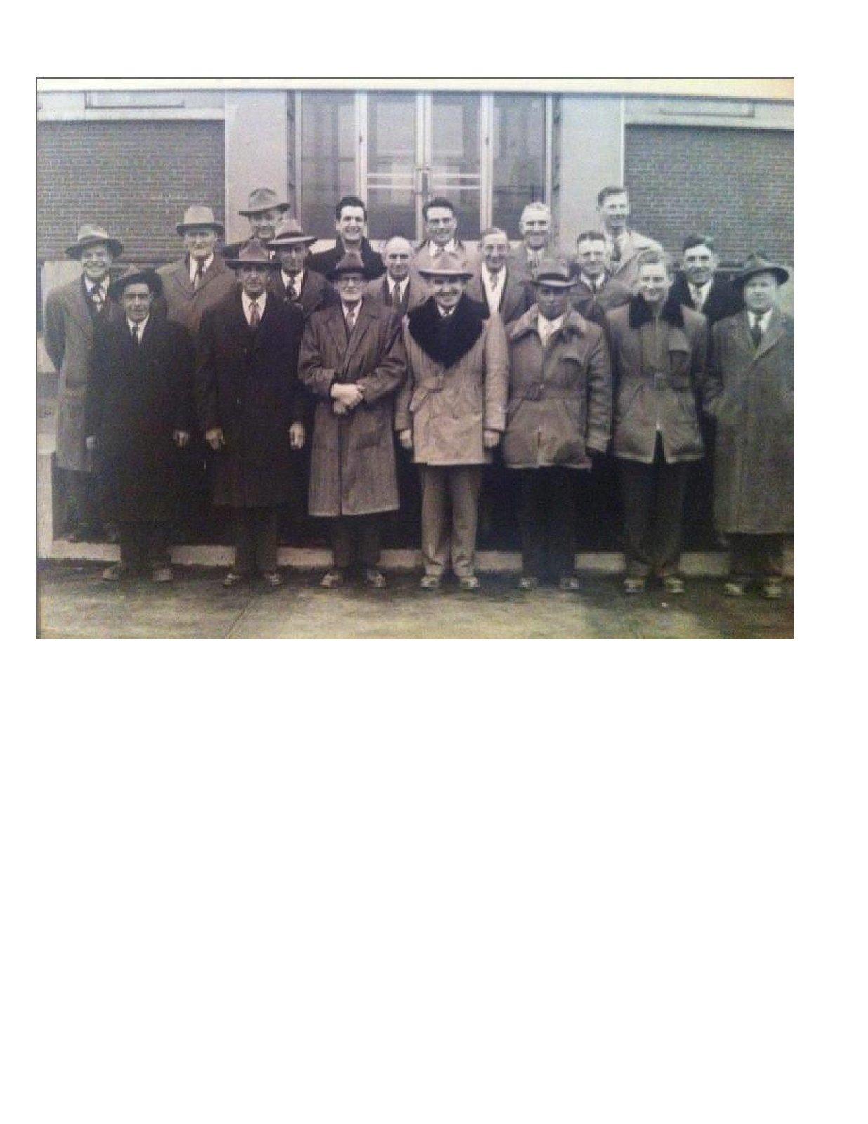 Area Men Tour Master Feeds in Toronto, 1940s