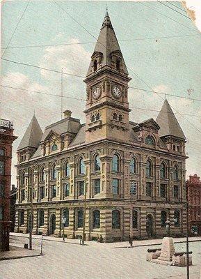 Post Office, Hamilton Ont.