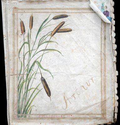Scrapbook Made For Arthur Smith circa 1888