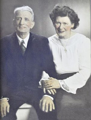 Jack and Jennie Moulding, 1945