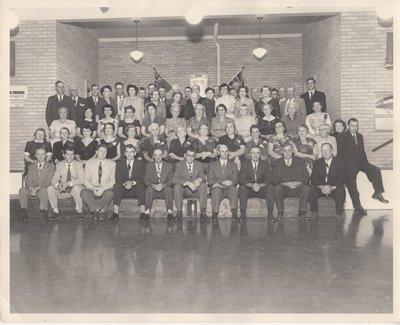 North Trafalgar Community Club, 1956