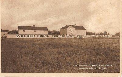 "Post Card: ""Buildings of the Walker House Farm Oakville & Toronto Ont."""