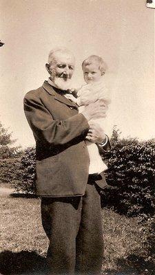Michael and Grandson Wilbert Bigger