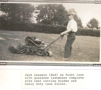 Jack and Harry Lessels At Work, Holyrood Estate, Oakville