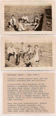 Holyrood Estate Beach, Oakville, Late 1930's