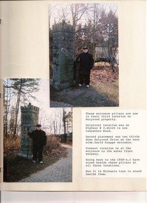 Gates, Holyrood House, Oakville