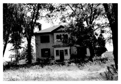1991 Photographs of 384 Dundas Street West, Oakville, Ontario