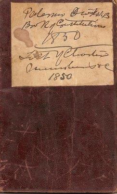 Palermo Sons of Temperance No.143 1850-1886