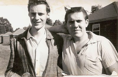 Oakville Recreation Commission Day Camp Leaders, Ross Wark and Jim Babinetz, 1958