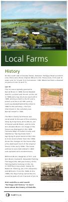 Trafalgar Memorial Park Historical Panels, Lot 15 Con 1 SDS Trafalgar