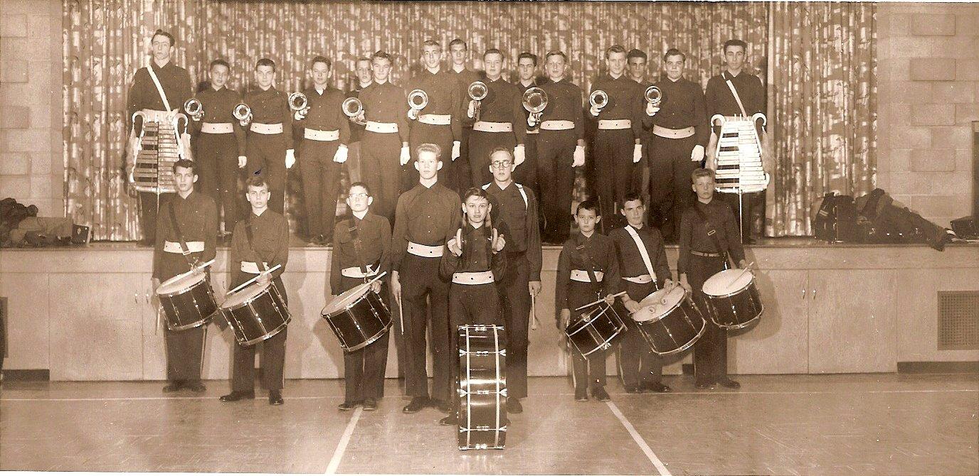 Township of Trafalgar Police Boys Band, around 1955-1960