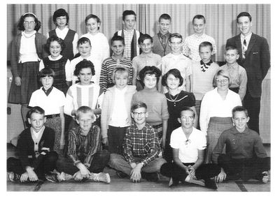 Percy W. Merry Public School, 1965-1966 Grade 6 and Grade 7