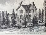 Sketch of Sprucedale, Residence of Wiliam Dixon Esq. near Milton, Halton Co. taken from the 1877 Illustrated Historical Atlas of the County of Halton Ont.