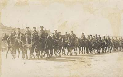 4th Canadian Mounted Rifles, 1915