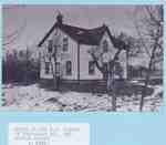 Early Settlement Home at Trafalgar Road and Dundas Street, ca. 1940