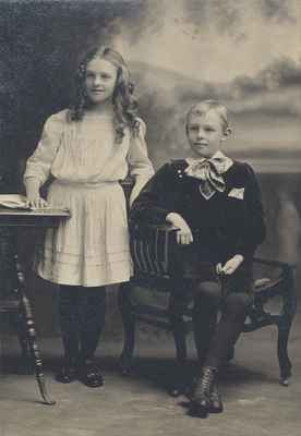 Vera and Guy Bussell, 1910 or 1911.