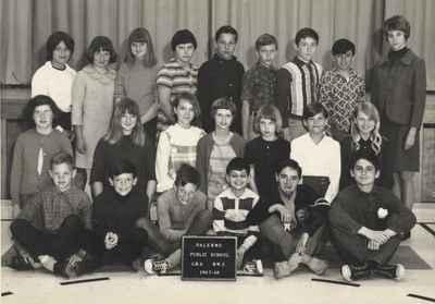 Palermo Public School, Grade 6, Rm 2.  1967-68.