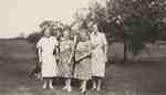 Wettlaufer Family Photo, Late 1940's