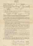 Teaching Contract Between Ethel Wettlaufer and the Trafalgar School Area, 1945