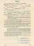 Teaching Contract Between Ethel Wettlaufer and the Trafalgar School Area, 1955