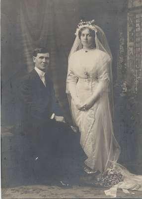 Lindsey Neelands and Birdie Mae Ingram, 1912