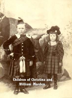 Children of William and Christina Morden