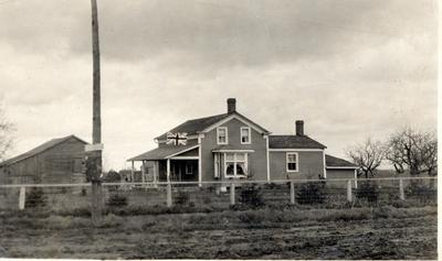 Hardy House in Sheridan, 1917
