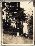 Moreley Wilkinson, Edna His Daughter, His Mother Marie, And Mary Patterson.