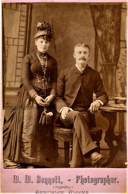 Married Couple, circa 1900
