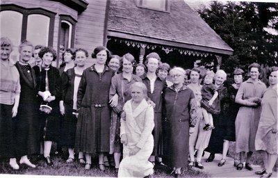 Ladies of Little Rapids United Church, circa 1927