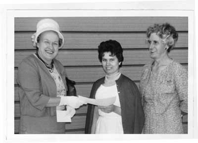 Lily Petty Scholarship Winner, May 1964