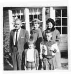 Merlyn Weir Family Photo, Thessalon, Circa 1962