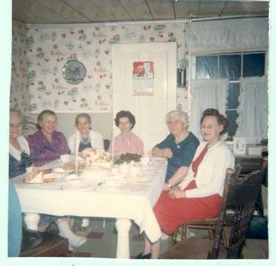 Mrs. Dave McDougall's 74th Birthday Celebration, circa 1970