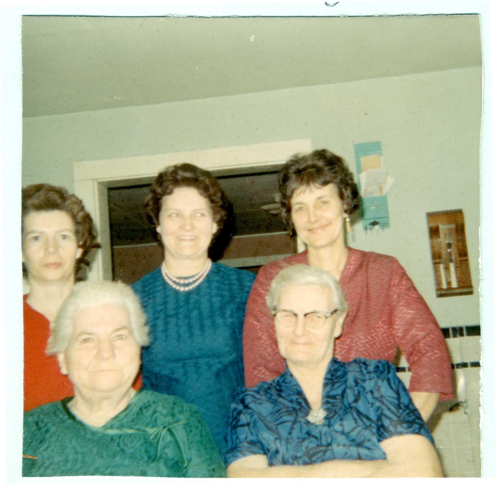 Five Ladies, circa 1960