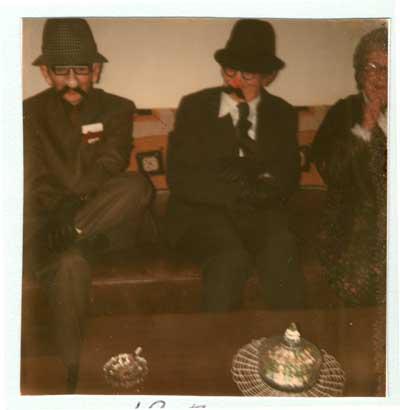Halloween Party at Clara Bird Residence, 1977