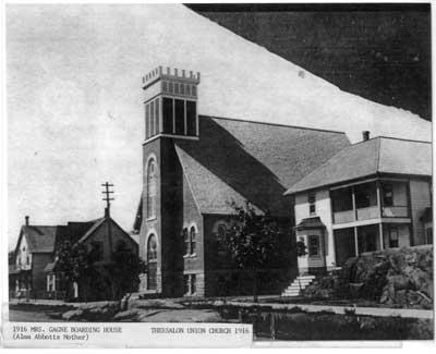 Thessalon United Church, Summer 1916