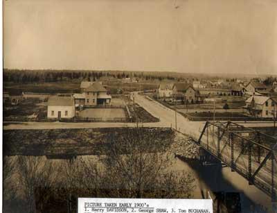 Government Rd. Bridge, Thessalon, circa 1910
