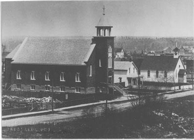 Catholic Churches of Thessalon, circa 1910