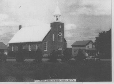 St. Ambrose Roman Catholic Church, Thessalon, Ontario, circa 1950
