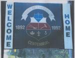 Town of Thessalon Centennial Sign, 1992