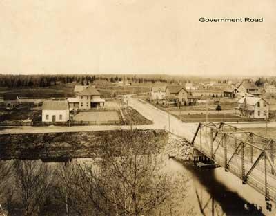 Government Road North, Thessalon, circa 1910