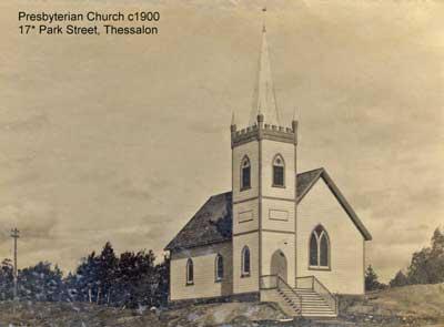 Presbyterian Church, Thessalon, circa 1900