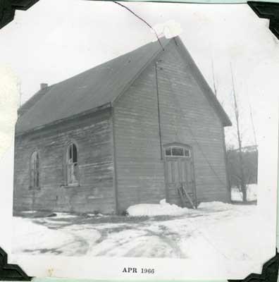 Ansonia Church, 1966