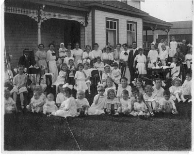 Anglican Sunday School Group, Thessalon, 1914