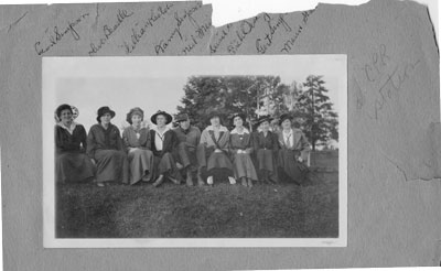 Group at CPR Station, circa 1940