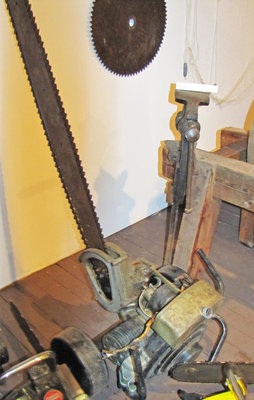 Dolmar - Ring & Co.  (RINCO) Two Man Chainsaw, Circa 1925