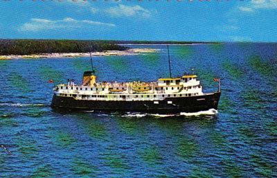 The Norgoma - Manitoulin Island Ferry, Circa 1970