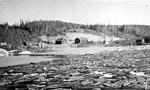 Log drive camp (1930's)