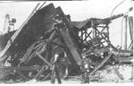 Coal Dock Tower After Hurricane