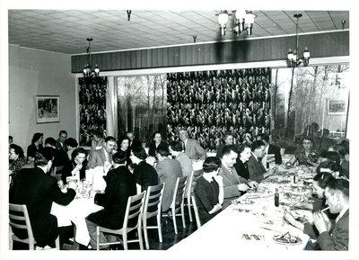 Firemen Banquet at Hotel Terrace
